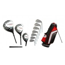 SENIOR MENS TOUR MAGNUM GOLF CLUB SET 460 DRIVER+WOOD+HYBRID+STAND BAG+PUTTER+4-PW ALL SIZES