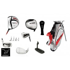 LEFT SENIOR EXECUTIVE TECH SERIES GOLF CLUB SET wDRIVER+BONUS 7 WD+STAND BAG+PUTTER