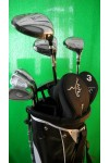 AGXGOLF MAGNUM TECH MENS SENIOR EDITION EXECUTIVE GOLF CLUB SET wSTAND BAG+PUTTER