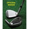 SENIOR MEN'S ALL GRAPHITE FIRELINE EDITION IRONS SET w/4 & 5 HYBRIDS + 6-PW; RIGHT HAND: ALL LENGTHS