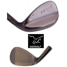 AGXGOLF GUN METAL 56 DEGREE SAND WEDGE LEFT HAND ALL SIZES: MEN'S LADIES', BOYS & GIRLS', JUNIORS'