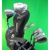 AGXGOLF LADIES LEFT HAND XDS GOLF CLUB SET w/DRIVER+FAIRWAY WOOD+4,6,8+SW  IRONS+PW+PUTTER: OPTIONAL BAG