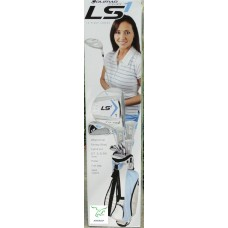 LADIES EDITION 12 PC LS1 GOLF CLUB SET w/BAG+FREE PUTTER+2 HEAD COVERS: PETITE OR REGULAR LENGTH