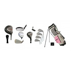LADIES EDITION  AGXGOLF MAGNUM TOUR-LSI  FULL GOLF CLUB SET:  PETITE, REGULAR, OR TALL LENGTH