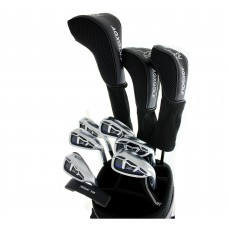 AGXGOLF BOYS MAGNUM GOLF CLUB SET wDRIVER+3 WD+HYBRID+5-PW IRONS+BAG+PUTTER: LEFT or RIGHT HAND: BUILT in the USA by AGXGOLF