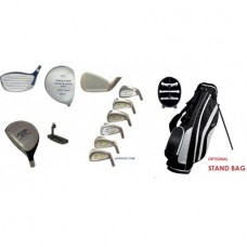 LADIES EDITION PRESTIGE TOUR EAGLE FULL GOLF CLUB SET PETITE, REGULAR, OR TALL LENGTH w/GRAPHITE SHAFT