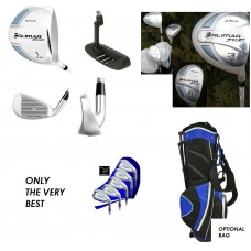 LADIES AGXGOLF ARIA: ALL GRAPHITE FULL GOLF CLUB SET: PETITE, REGULAR, TALL
