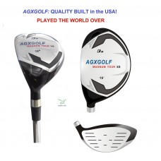 AGXGOLF MAGNUM LADIES RIGHT HAND #3 HYBRID IRON W/LADY FLEX STEEL SHAFT