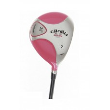 AGXGOLF GIRL'S PINK 22 DEGREE 7 WOOD w/GRAPHITE SHAFT + HEAD COVER TEEN or TWEEN
