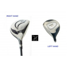 AGXGOLF MENS 21 DEGREE UTILITY WOOD AVAILABLE IN CADET, REG & TALL: SENIOR, REG OR STIFF FLEX