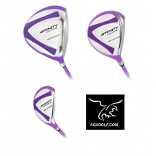 "XPLODE LADIES LAVENDER EDITION"" 3 PIECE WOODS SET  RIGHT HAND AVAILABLE IN LADIES PETITE, REGULAR, OR TALL"