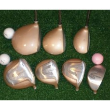 LADIES SELECT CUSTOM DRIVER & FAIRWAY WOODS FREE HYBRID: PETITE, REGULAR & TALL LENGTH AVAILABLE
