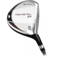 ORLIMAR MEN'S TRI-METAL ZX ANTI-SLICE 3 OR 5 WOOD w/GRAPHITE SHAFT:  REGULAR or STIFF FLEX