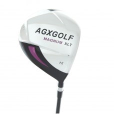 AGXGOLF GIRLS RIGHT HAND MAGNUM XLT 12° DRIVER wGRAPHITE SHAFT & HEAD COVER