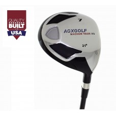 AGXGOLF MENS 21 DEGREE UTILITY WOOD AVAILABLE IN ALL LENGTHS AND FLEXES