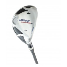 AGXGOLF LADIES Edition, Magnum XS #8 HYBRID IRON (34 Degree) w/Free Head Cover - ALL SIZES. Additional Fairway Wood Options!