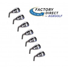 MEN'S LEFT or RIGHT HAND AGXGOLF MAGNUM XS TOUR IRONS SET; 5, 6, 7, 8 & 9 IRONS + PITCHING WEDGE & SAND WEDGE PRO SERIES: BUILT in the USA!