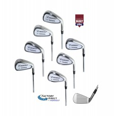 AGXGOLF TCI Tour Edition Irons Set 4-9 + PW & SW (Titleist DCI Type Choose Flex & Length 431 Stainless Steel Optional Wedges. BUILT in USA!!