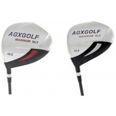 AGXGOLF BOYS LEFT HAND MAGNUM XLT 10.5° DRIVER wGRAPHITE SHAFT & HEAD COVER