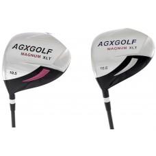 AGXGOLF LADIES LEFT HAND MAGNUM XLT 10.5° DRIVER wGRAPHITE SHAFT & HEAD COVER